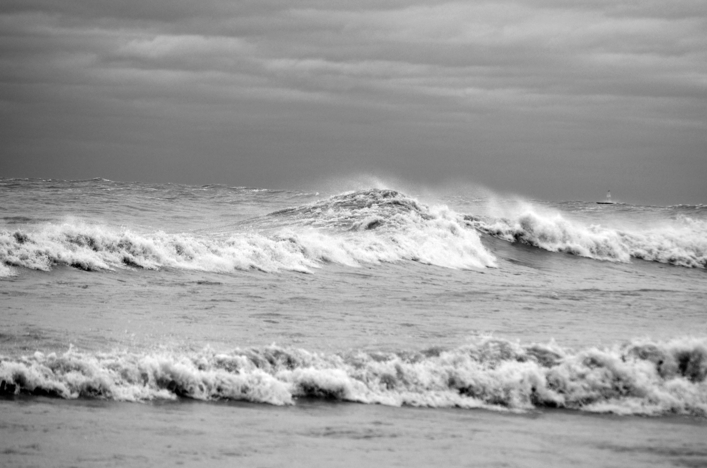Hurracine Sandy  on Lake Michigan 2