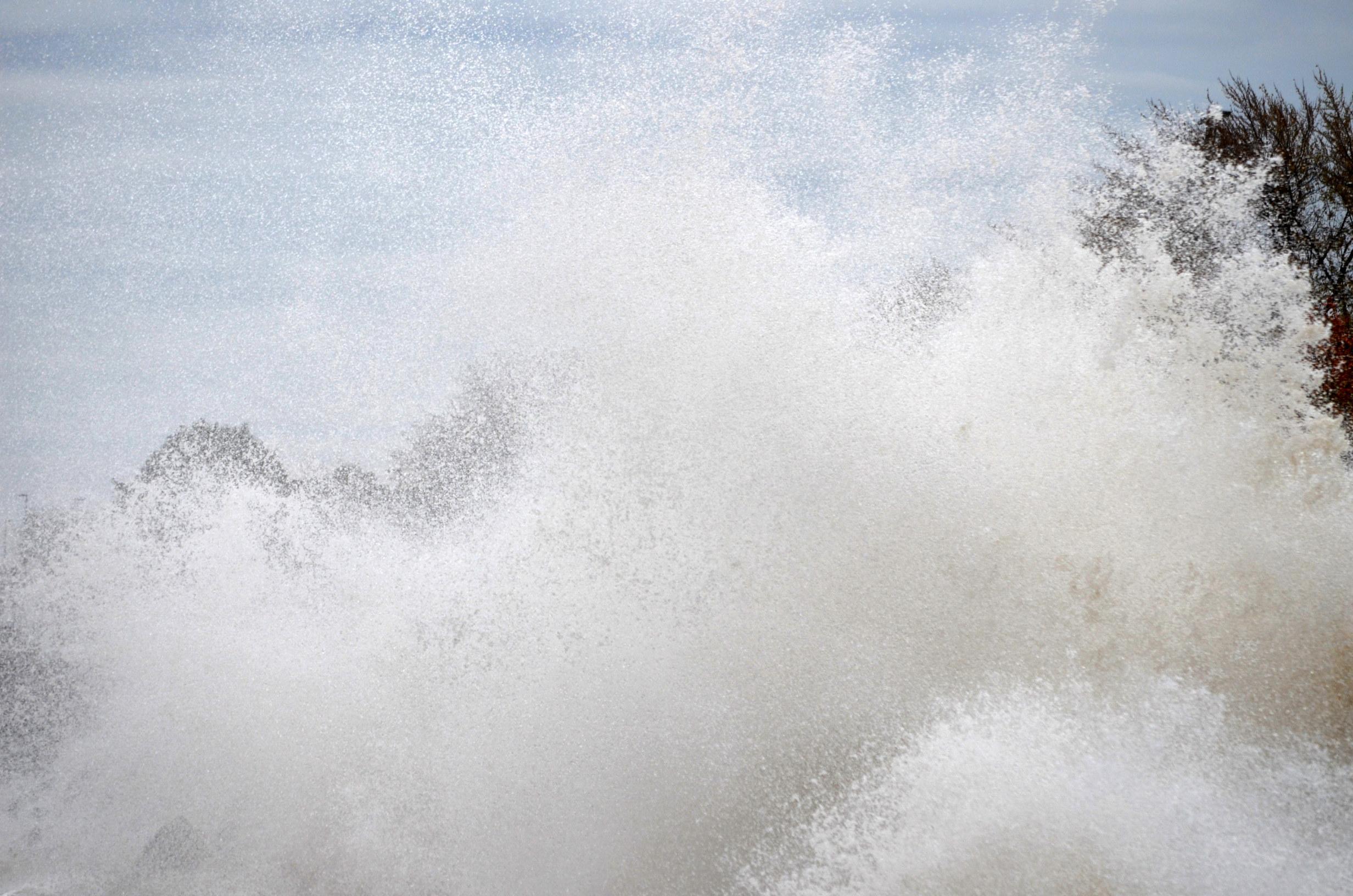 Hurracine Sandy  on Lake Michigan 6
