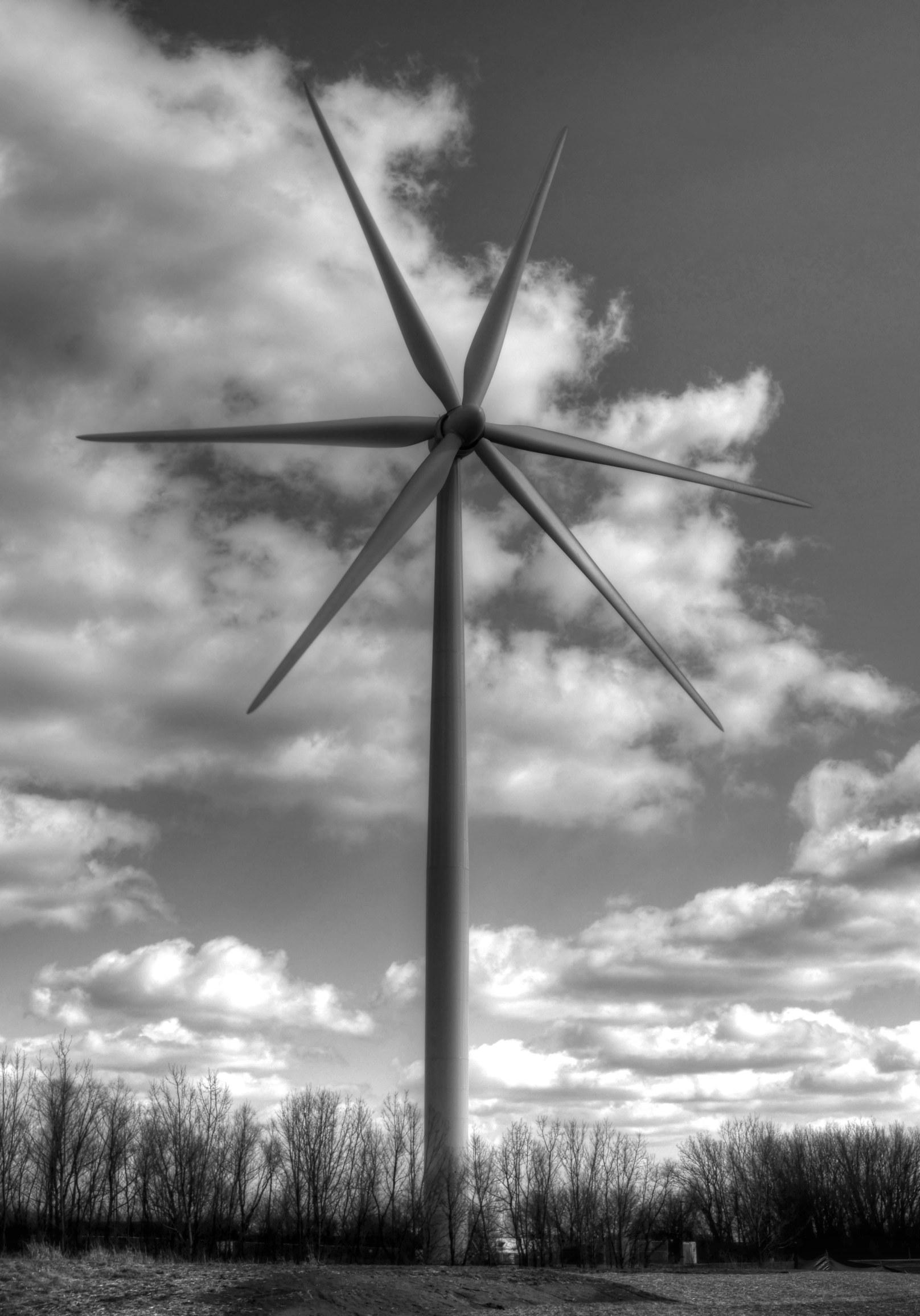 windmill 1 Monochrome