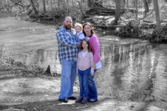 Schlichting Family  22 Selective Color
